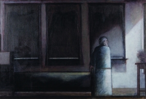 The Three Windows Will Barnet, 1992, oil on canvas, Smith College Art Museum