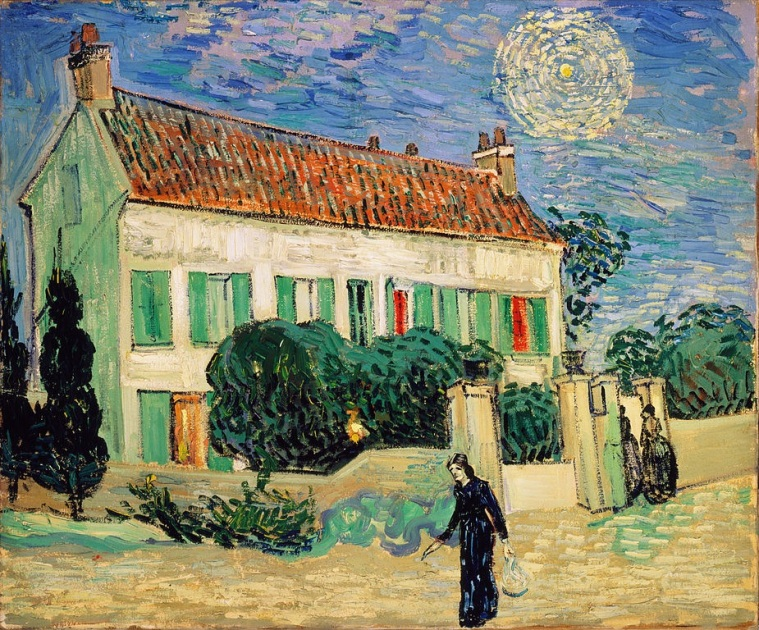 Vincent van Gogh, White House at Night, 1890  Hermitage Museum Collection